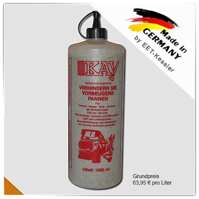 OKAY Reifendichtemulsion 1000ml