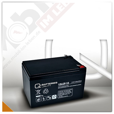 Q-Batteries 12LCP-12, 12V/13Ah