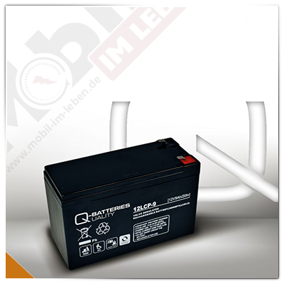 Q-Batteries 12LCP-9, 12V/9Ah