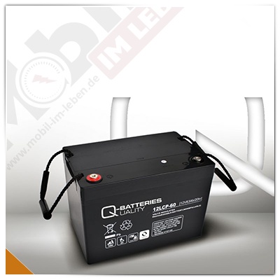 Q-Batteries 12LCP-60, 12V/63Ah