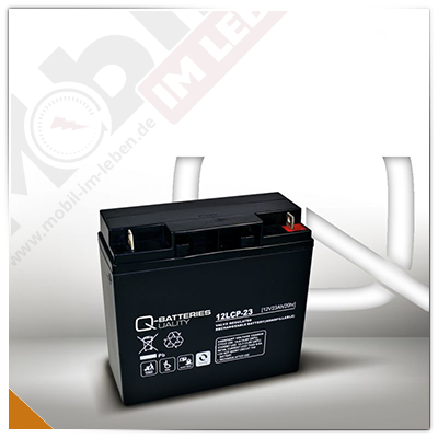 Q-Batteries 12LCP-23, 12V/23Ah