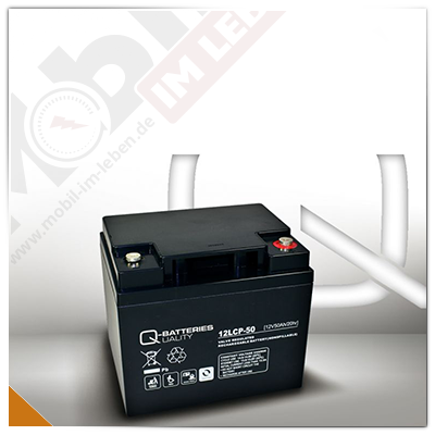 Q-Batteries 12LCP-50, 12V/50Ah