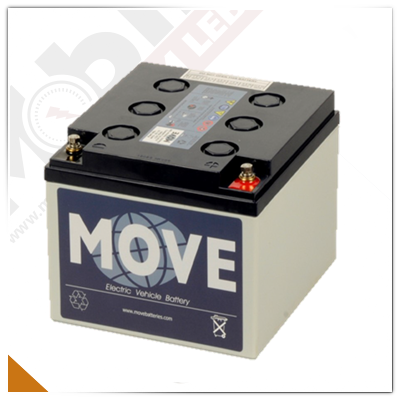 Move MPG 25-12, 12V/25Ah