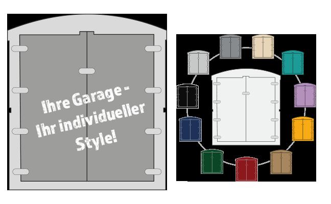 Elektromobil Garage/Box in verschiedenen Farben